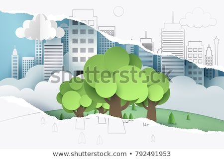 Sustainability Torn Paper Concept Stock photo © ivelin