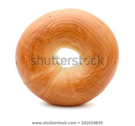 свежие Бублики изолированный продовольствие ресторан хлеб Сток-фото © shutswis