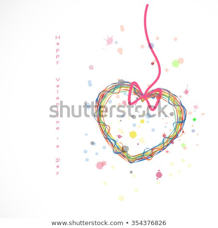 happy valentines day lettering background 2016 happy valentine stock photo © chatchai5172