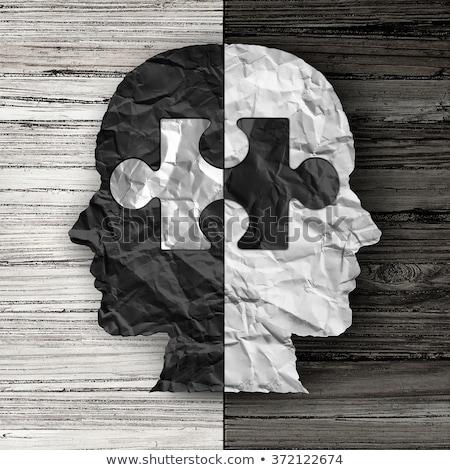 racial · justicia · discriminación · carrera · relaciones - foto stock © lightsource