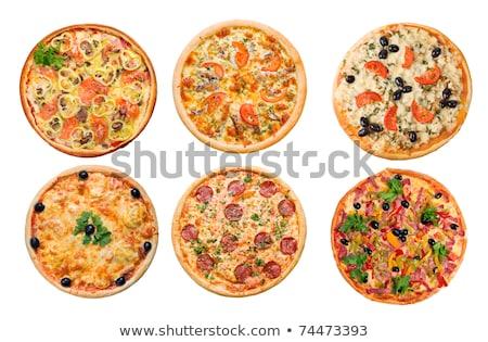 Pizza Ve İtalyan Mutfağı Stüdyosu Stok fotoğraf © Fanfo