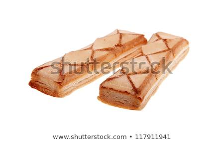 Italian Apricot Glazed Puff Pastries Stock photo © Digifoodstock