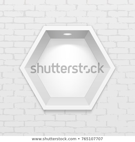 Shelf interior with object Stock photo © jossdiim