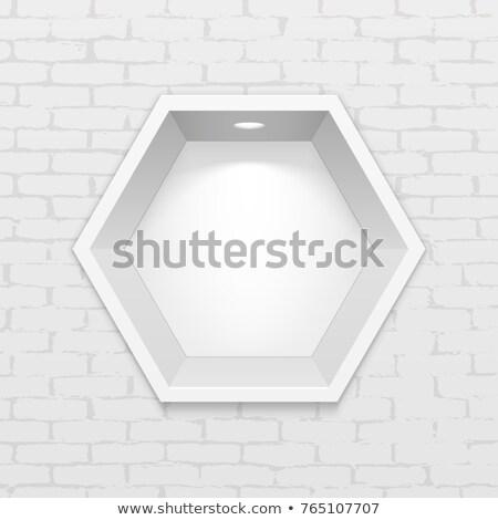 fehér · váza · vektor · üres · kerámia · felső - stock fotó © jossdiim