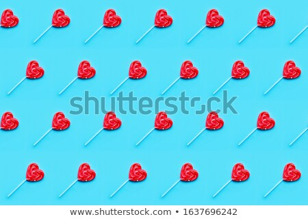 seamless candy color hearts pattern valentines day concept stock photo © marysan