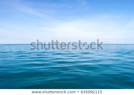 Trilha mar superfície atrás acelerar barcos Foto stock © smuki