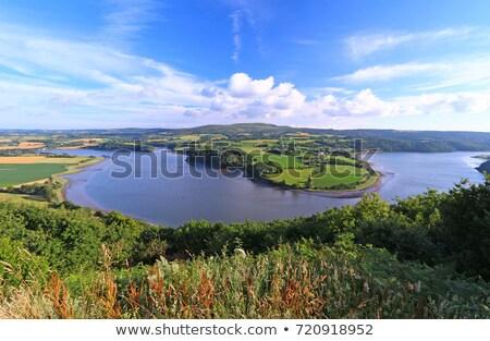 Aulne river in Brittany Stock photo © prill