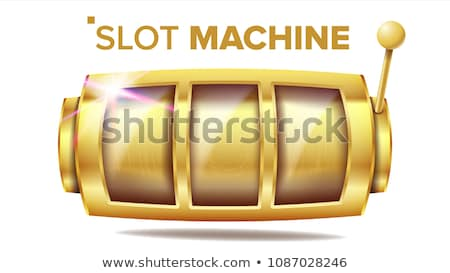 Slot machine and golden coins Stock photo © bluering