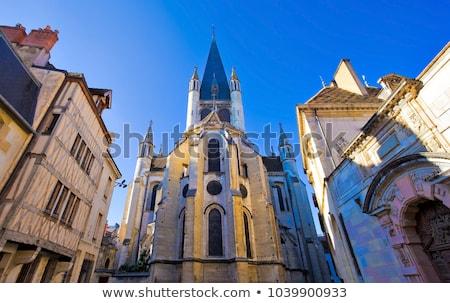 church of notre dame of dijon stock photo © meinzahn