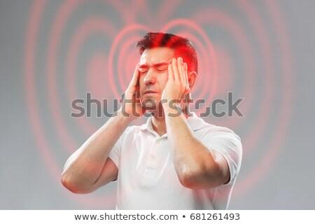 Headache concept Stock photo © bluering