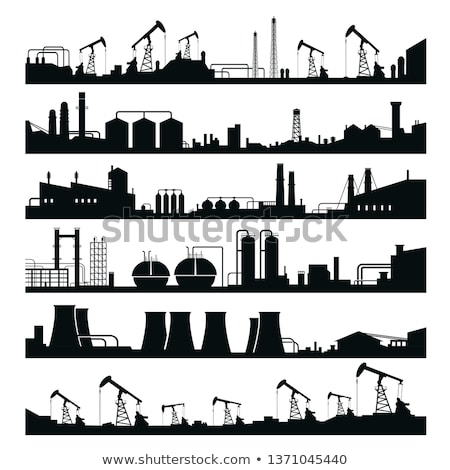 Industrial Silhouette Stock photo © lienkie