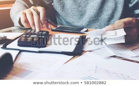 Help Calculation Business Finance Stock photo © idesign
