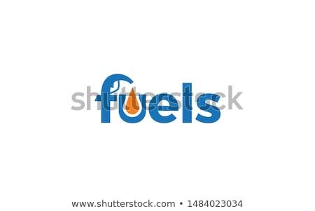 kéz · tart · benzin · benzinpumpa · fúvóka · illusztráció - stock fotó © jossdiim