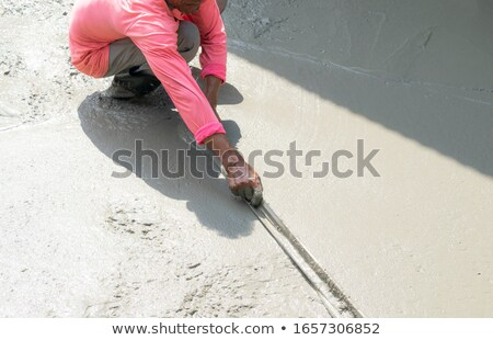Cracked concrete flooring from skate park Stock photo © stevanovicigor