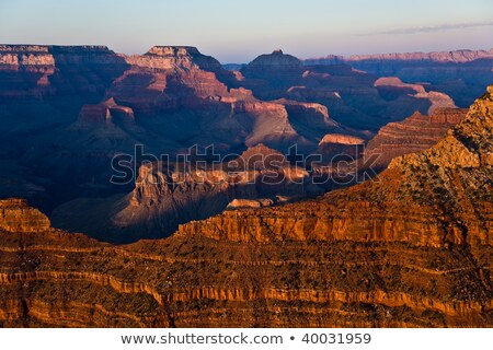 красочный закат каньон точки небе Сток-фото © meinzahn