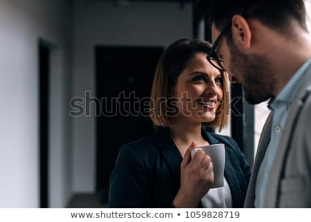 Work romance. Stock photo © Fisher