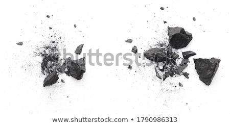 壊れた · ピース · ボトル · ワイン · 緑 · 透明な - ストックフォト © fisher