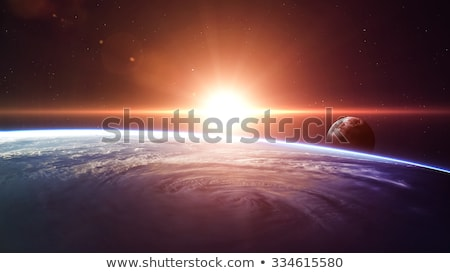 Planet Mercury. Outer space background. Stock photo © NASA_images