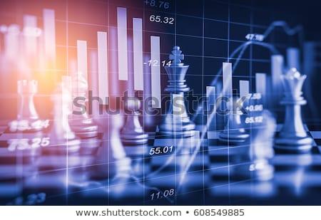 Foto stock: Global · xadrez · jogo · ícone · mundo · forma