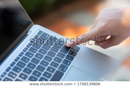 moderne · toetsenbord · 3D · mannelijke - stockfoto © tashatuvango