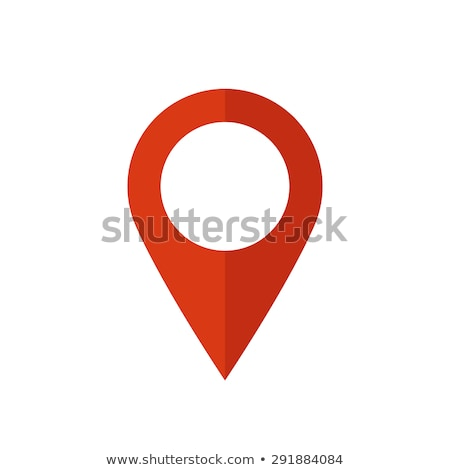 Map pin red Stock photo © Ecelop
