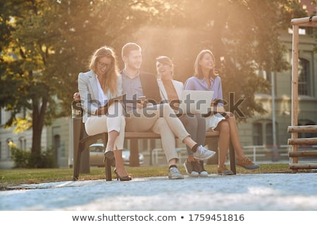 Businesspeople laughing Stock photo © IS2