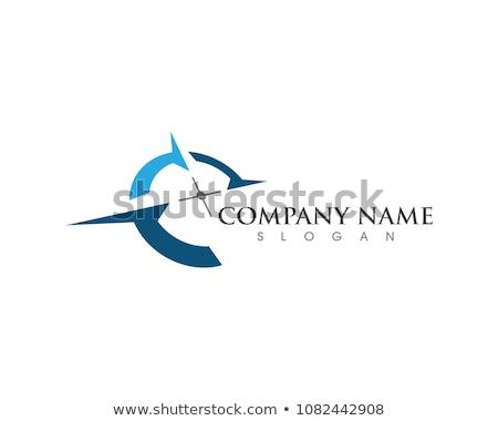 iránytű · logo · szimbólum · irányítás · helyszín · uticél - stock fotó © meisuseno