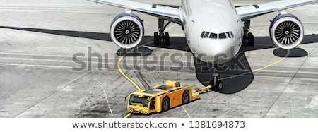 pormenor · pista · decolagem · rua · viajar · acelerar - foto stock © backyardproductions