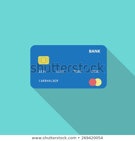 Credit card icon, online payment, cash withdrawal, financial operations, shopping, vector illustrati Stock photo © ikopylov
