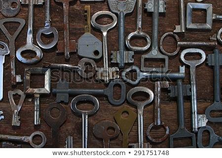 Colección muchos diferente edad retro claves Foto stock © Illia
