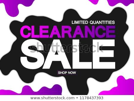 grande · outono · venda · ícones · isolado - foto stock © robuart