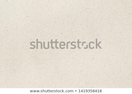 Tekstury papieru beżowy pusty powierzchnia tapety Zdjęcia stock © FoxysGraphic