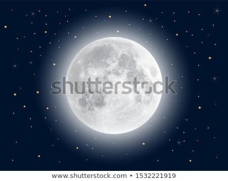 Brilhante lua paisagem projeto mundo fundo Foto stock © kayros