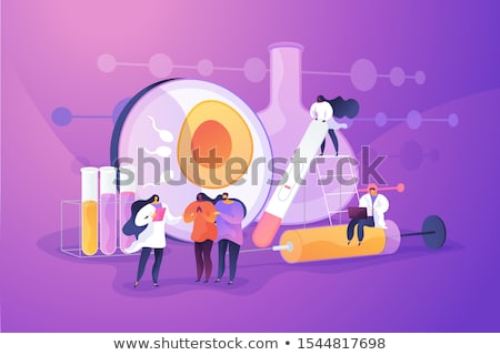 Infertility concept vector illustration. Stock photo © RAStudio