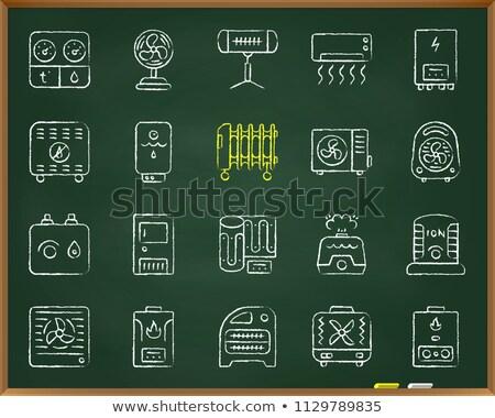 Vochtigheid controle schets doodle icon Stockfoto © RAStudio