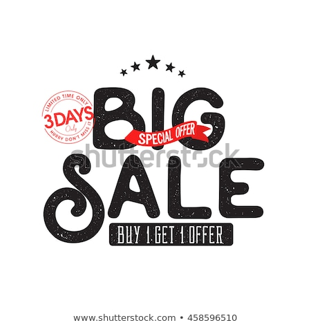 Only One Day Fantastic Offer, Reduction of Price Stock photo © robuart