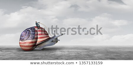 Slow United States Action Stock photo © Lightsource