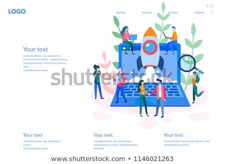 how to launch successful business website info stock photo © robuart
