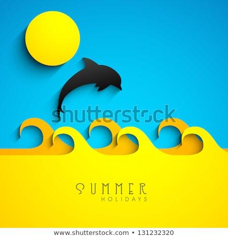 Lifestyle hotel concept vector illustration Stock photo © RAStudio