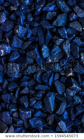 Dunkel blau Stein Kieselsteine abstrakten Textur Stock foto © Anneleven