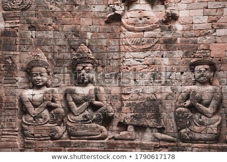 alivio · angkor · Camboya · antigua · piedra · Angkor · Wat - foto stock © bbbar