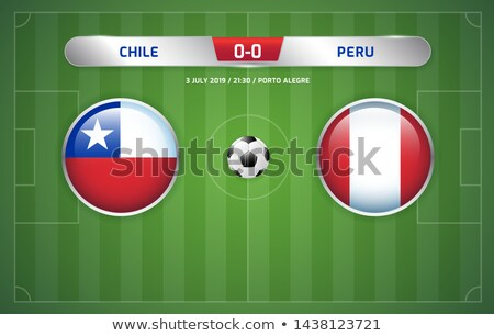 ブラジル 対 チリ サッカー 一致 実例 ストックフォト © olira