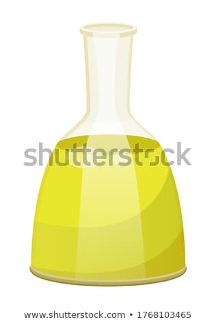 Vegetable Oil for Hair Care, Liquid in Vessel Stock photo © robuart