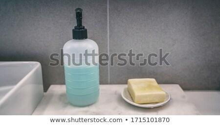 мыло Бар жидкость стороны бутылку сравнение Сток-фото © Maridav