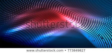 аннотация частицы синий красный цвета Сток-фото © SArts