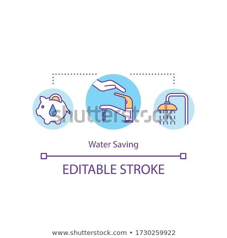 concept of the cost of water stock photo © trgowanlock
