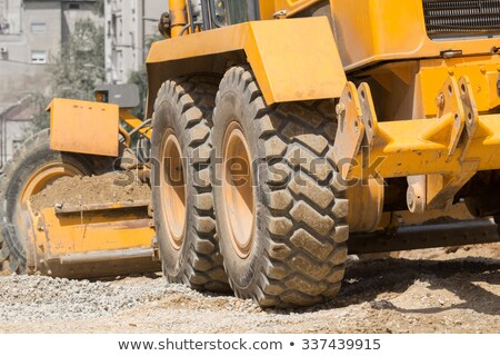Earth Mover Tire Stock photo © pixelsnap
