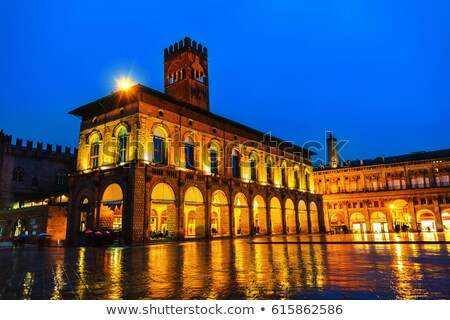 Bologna, king Enzo palace Stock photo © aladin66