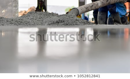 Pouring concrete Stock photo © lightkeeper