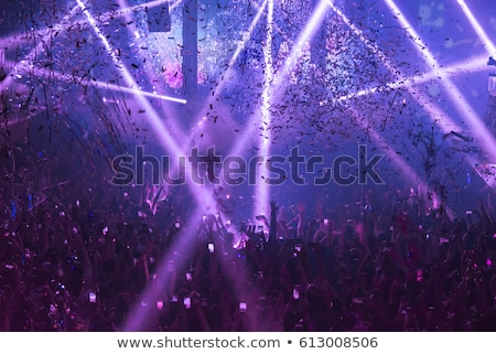 Stock photo: abstract musical night club background